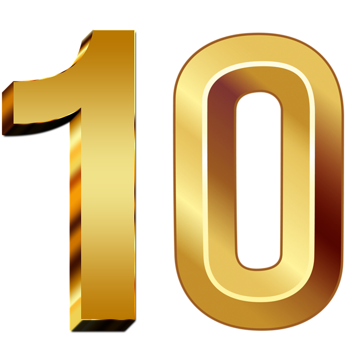 10-Number-PNG