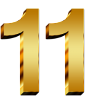 11-Number-PNG
