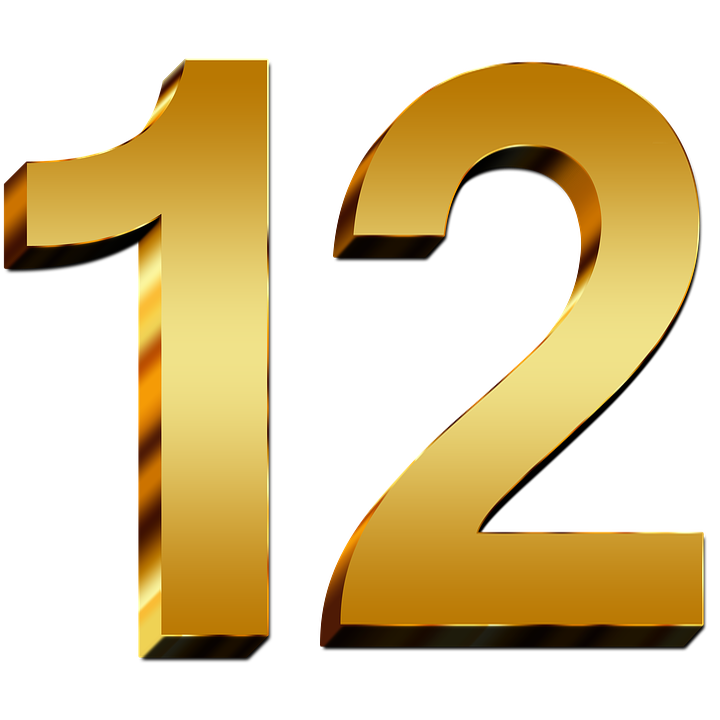12-Number-PNG