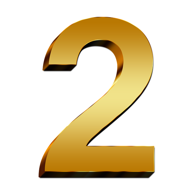 2-Number-PNG