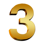 3-Number-PNG