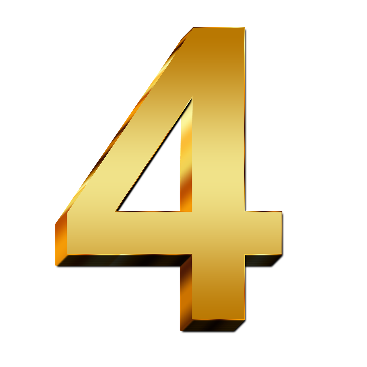 4-Number-PNG