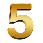 5-Number-PNG