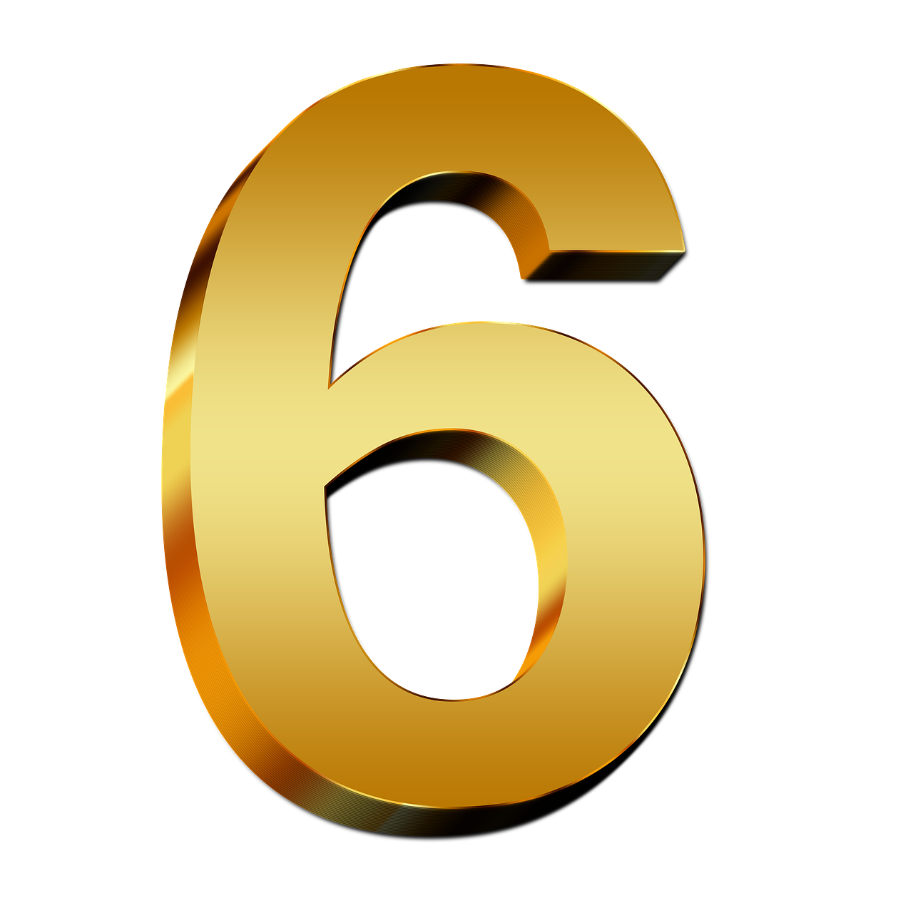 6-Number-PNG